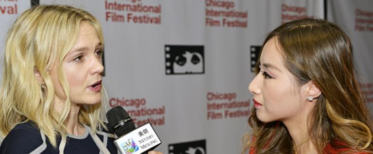 《了不起的盖茨比》女星凯丽·穆里根宣传新片Wildlife