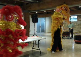 芝加哥华星舞狮团成立