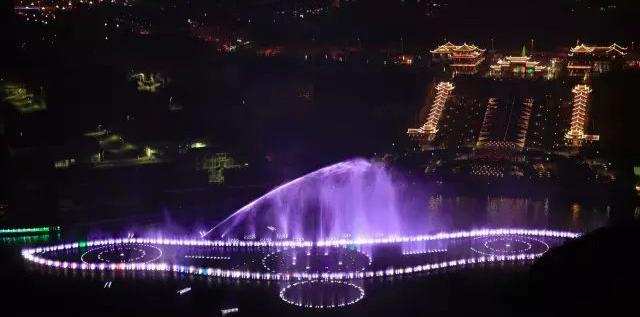 毕节人期待已久的音乐喷泉开喷啦!